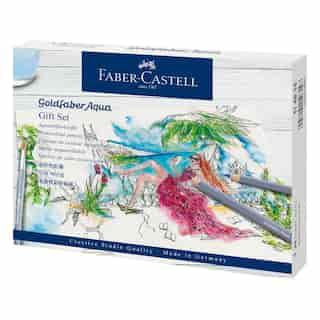 Faber Castell Goldfaber Aqua Watercolour Pencils Gift Set