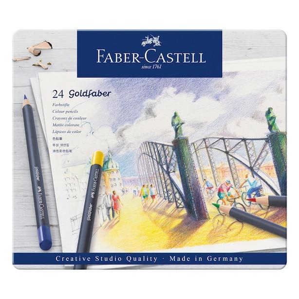 Faber Castell Goldfaber colour pencils set of 24