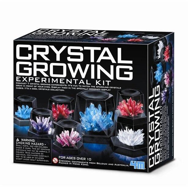 Kit d'expériences croissances de cristaux 4M