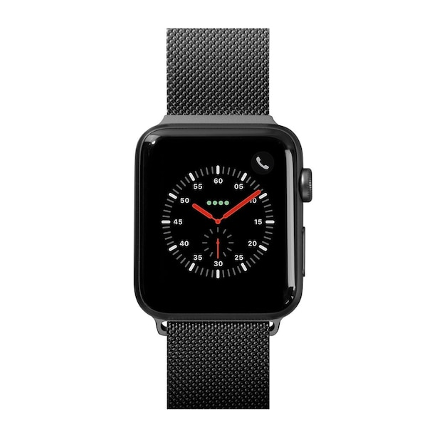 LAUT STEEL LOOP pour Apple Watch 42/44mm- Noir