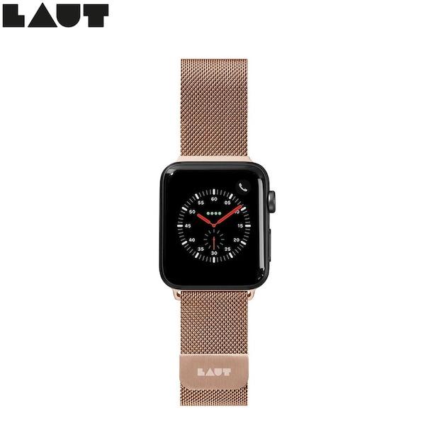 LAUT STEEL LOOP pour Apple Watch 38/40mm - Or