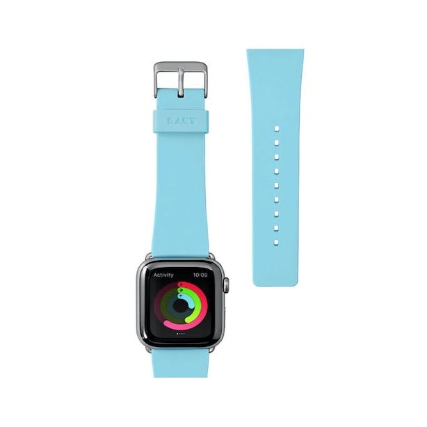 LAUT PASTELS Apple Watch BEt 38/40mm - BEbE Bleu