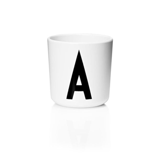 DESIGN LETTERS PERSONAL MELAMINE CUP - A