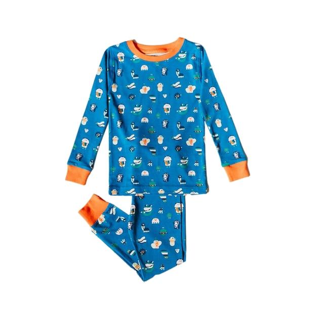 Organic Kids Pajamas  - Funny Creatures - 3T