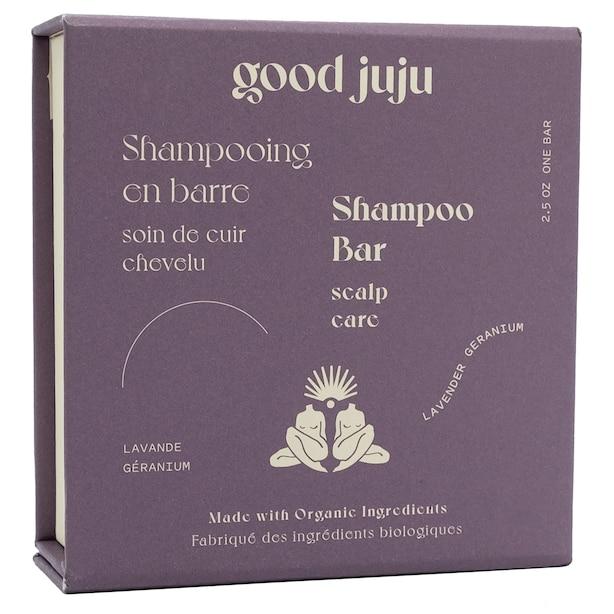 Shampoing en barre pour le cuir chevelu sensible