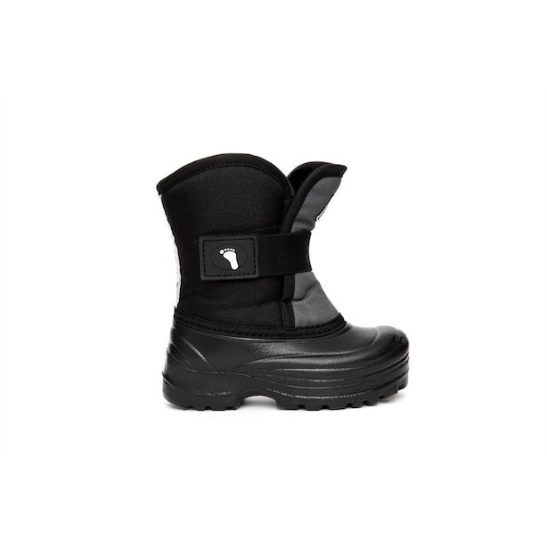 Stonz Kids Scout Winter Boots Grey and Black 5T 0 to 2 Years