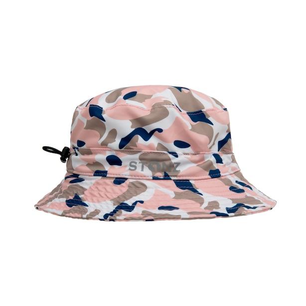 Stonz Bucket Hat - Camo Pink