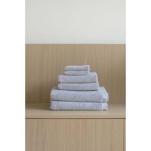 Ensembles de serviettes en coton biologique - Brouillard