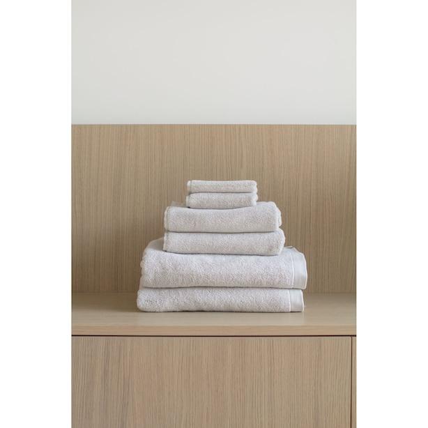 Ensembles de serviettes en coton biologique - Sable