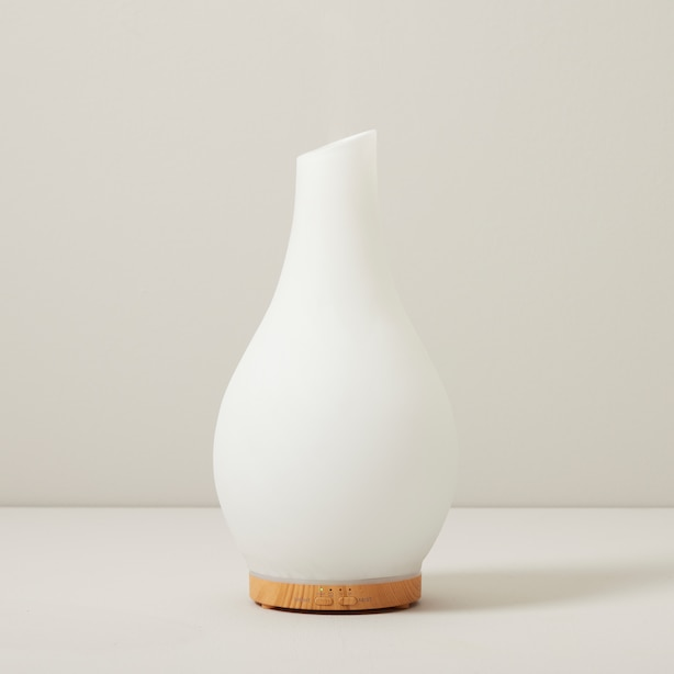 TULA FROSTED GLASS ULTRASONIC DIFFUSER