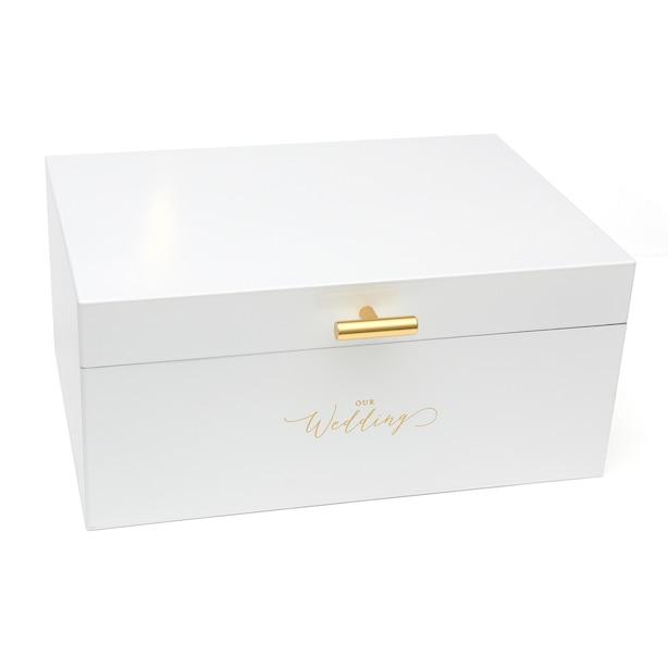 Boîte à cartes - Blanc