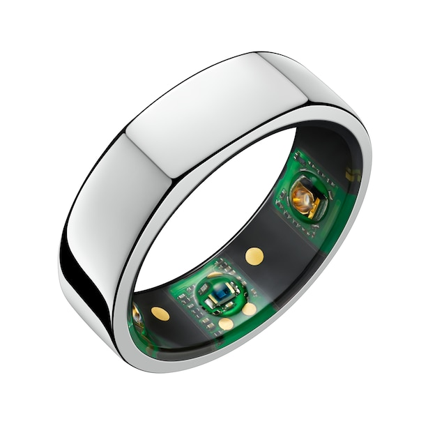 OURA RING HERITAGE SILVER 9