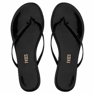 Lily Flip Flop, Glosses Licorice Size 8
