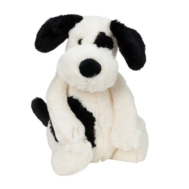 Puppy Medium, Cream & Black