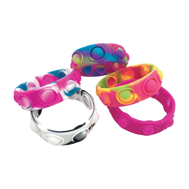 Crazy Snaps Fidget Bracelet (SHIPS 1 OF 5 ASSORTED STYLES)
