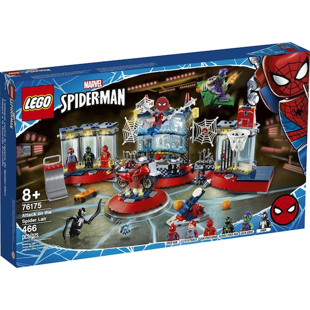 LEGO® Super Heroes Attack on the Spider Lair - 76175