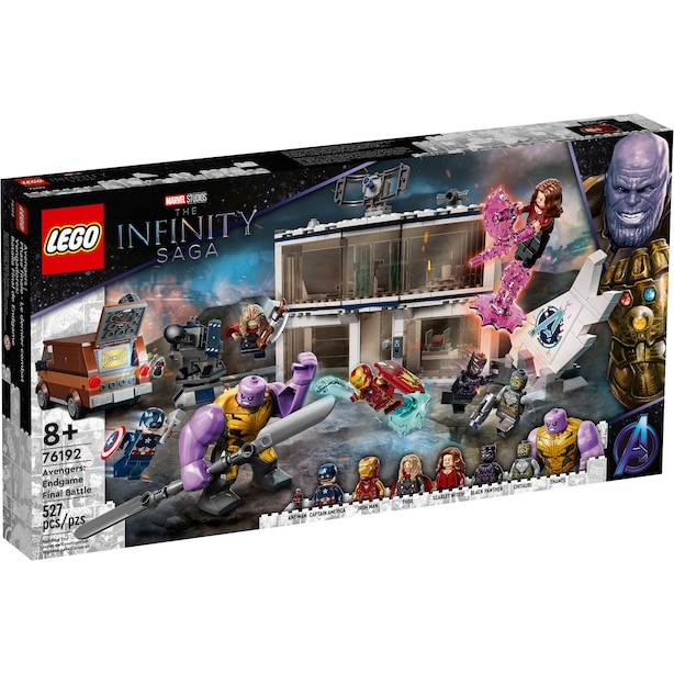 76192 LEGO SUPER HEROES AVENGERS: ENDGAME FINAL BATTLE