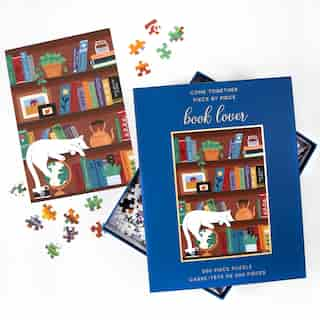 500PC PL BOOK LOVER
