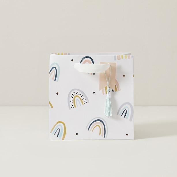 Mara-Mi FSC Baby Small Gift Bag - Rainbows