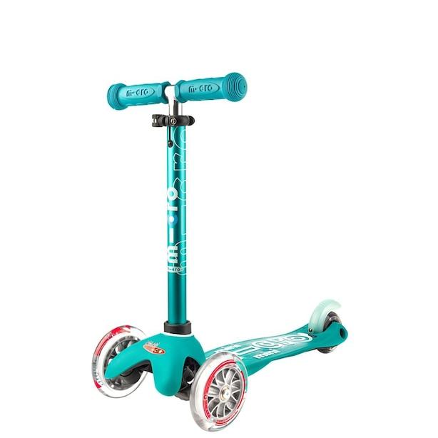 MICRO Mini Deluxe Kickboard Scooter - Aqua