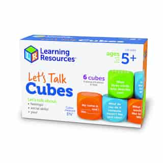 Learning Resources Let's Talk Cubes!