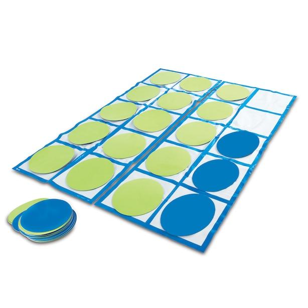 Learning Resources Ten-Frame Floor Mat Activity Set
