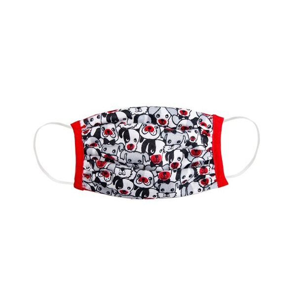 Puppies Non-Medical Face Mask for Kids