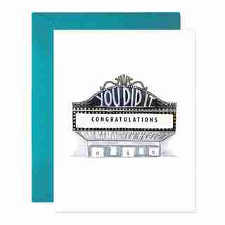 Paper E. Clips Mother's Day Card Congratulations Marquee