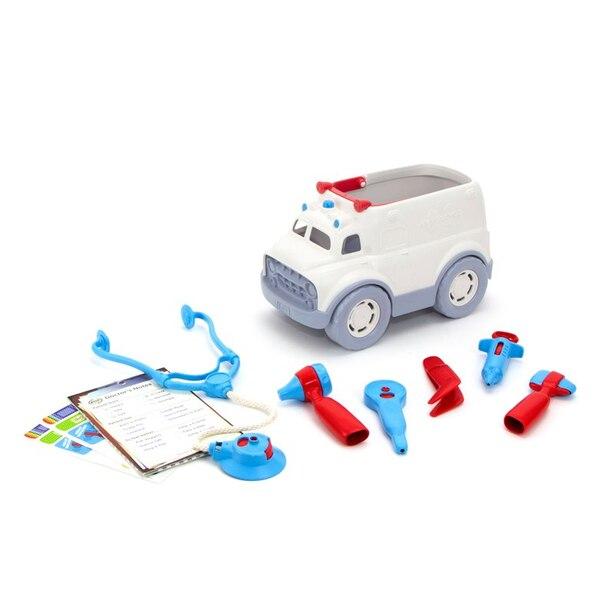 Green Toys® Ambulance and Kit de docteur