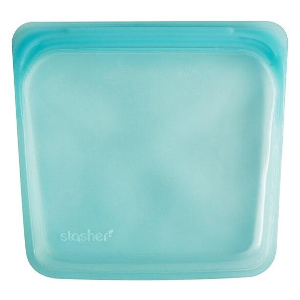 Reusable Sandwich Bag, Aqua
