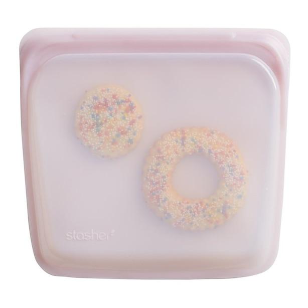 Reusable Snack Bag, Rose Quartz