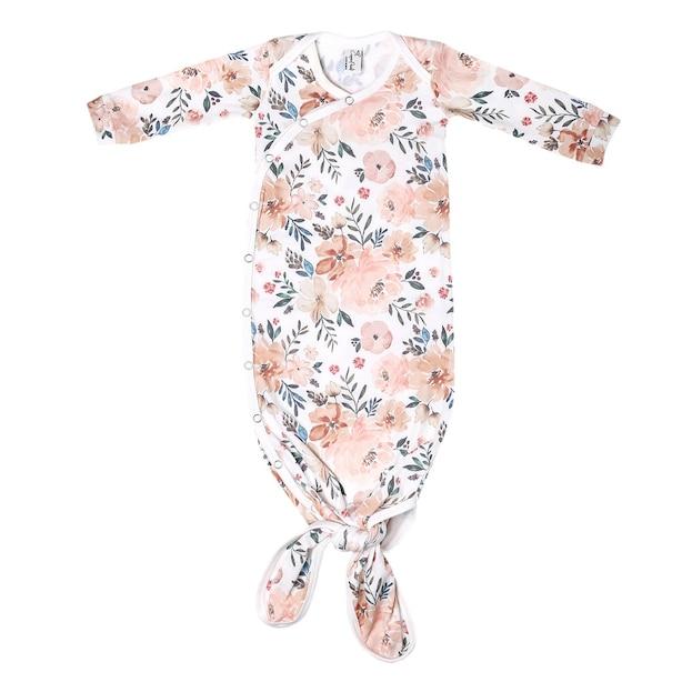 Newborn Knotted Gown, Autumn