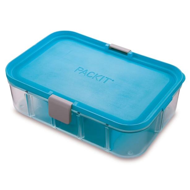 PackIt FLEX Bento Box Tropical Blue