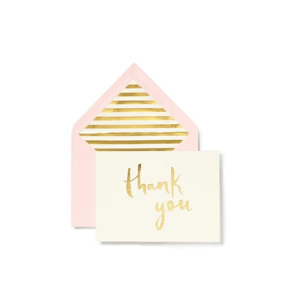 Kate Spade New York Thank You Notecard Set Of 10