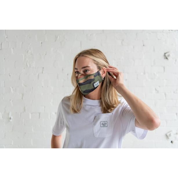 Classic Non-Medical Face Mask, Woodland Camo