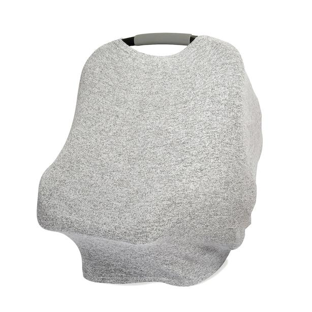 Snuggle Knit Multi-Use Cover - Heather Grey