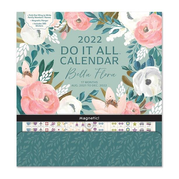 August 2021 - December 2022 Do It All Bella Floral Planner