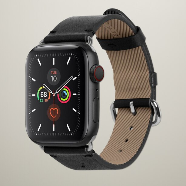 NATIVE UNION CLASSIC STRAP FOR APPLE WATCH BLACK 42MM/44MM