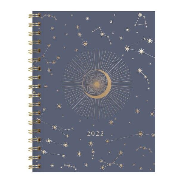 FRINGE STUDIO 2022 12 MONTH MEDIUM SPIRAL PLANNER, CELESTIAL