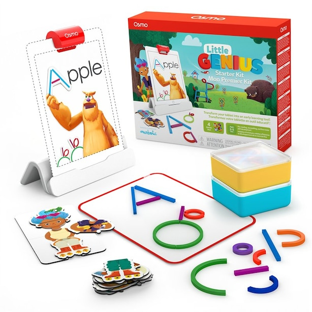 Osmo Little Genius Starter Kit for iPad - Ages 3-5 (Osmo Base Included)