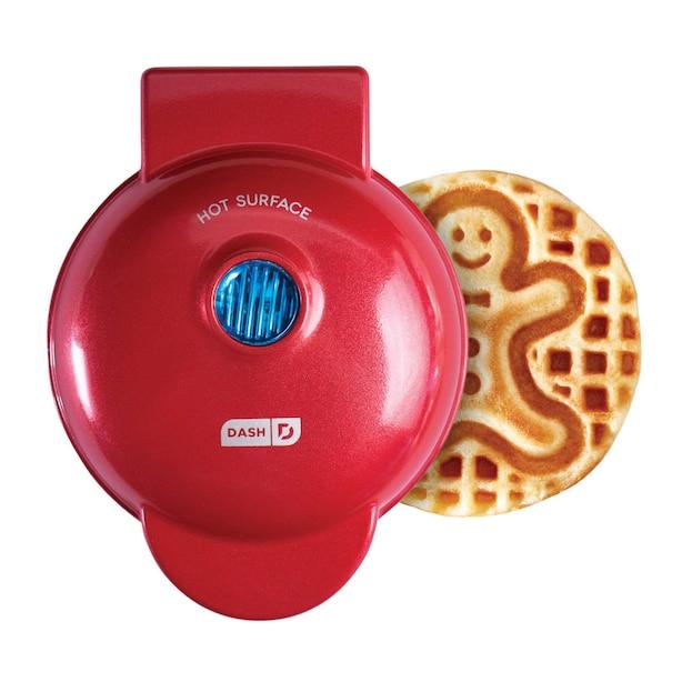 Mini Waffle Maker Gingerbread