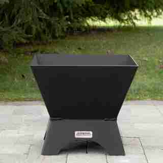 """18"""" Modern Cube Fire Pit & Table Top"""