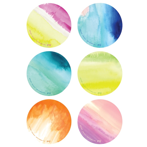 Puj Treads - Watercolors