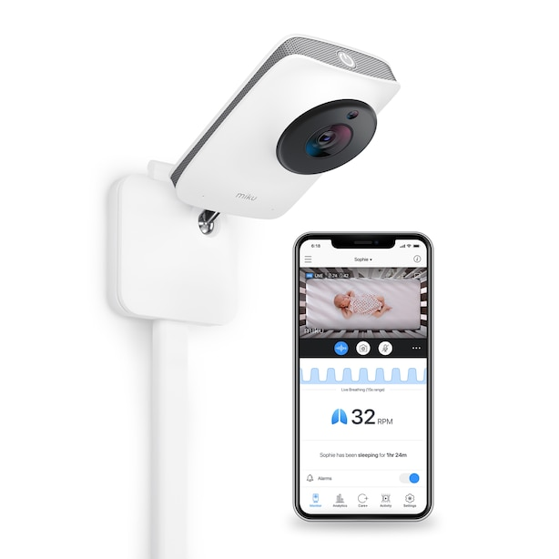 Miku Pro Smart Baby Monitor