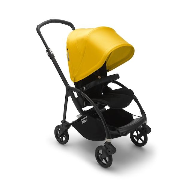 Bugaboo Bee6 Complete Stroller Black/Black/Lemon Yellow