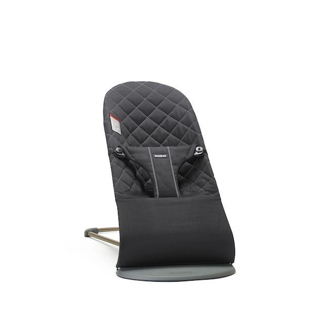 BabyBjörn Bouncer Bliss Fabric Seat - Black