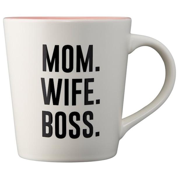 MOM WIFE BOSS MUG