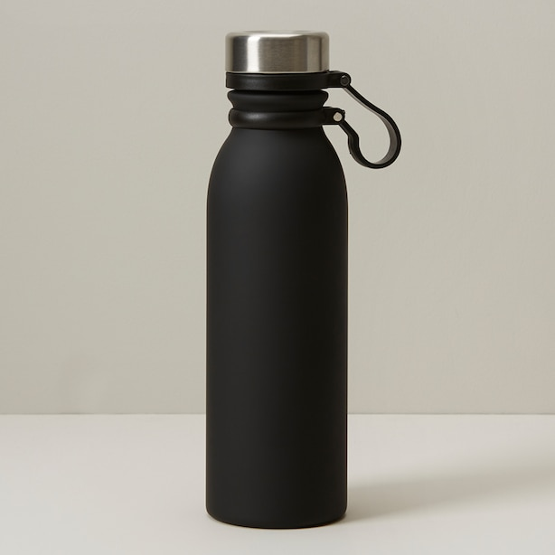 INSULATED WATER BOTTLE, BLACK