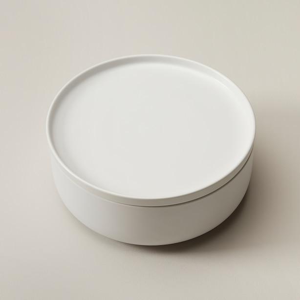OUI MODULAR BOWL & DINNER PLATE WHITE