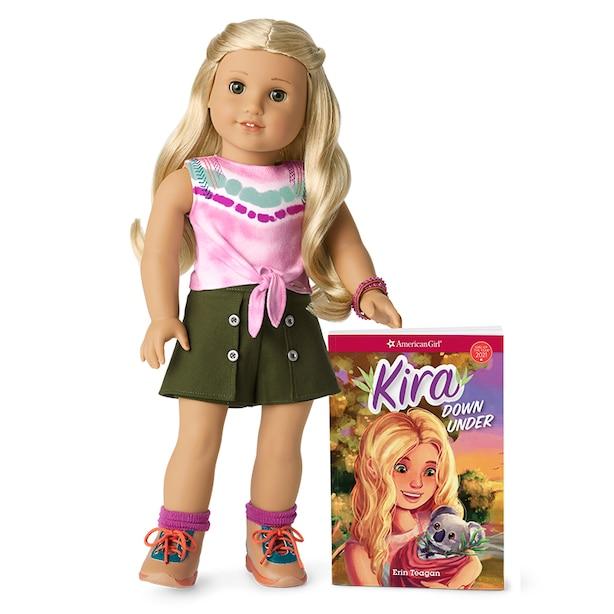 American Girl Kira Doll & Book